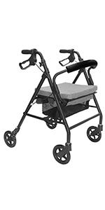 KMINA - Andadores ancianos plegable, Andadores adultos con ...