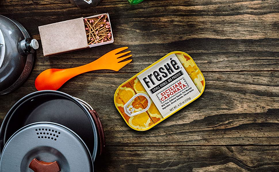 adventure freshe tuna pack backpacking healthy meals snacks food camping