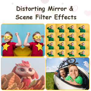 Distorting Mirrors and Scene Filter Effects