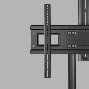 Heavy-duty steel frame and universal VESA mount