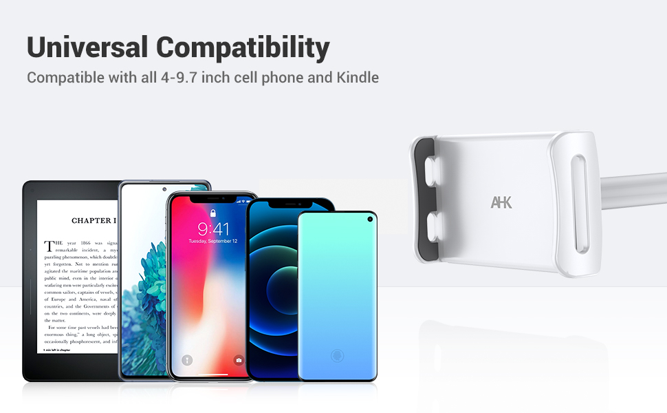 Compatible with various mobile phones