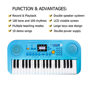 Multifunction Piano Keyboard