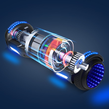Flash hoverboard powerful motor