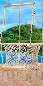 hanging rope swing