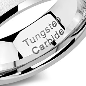 newshe wedding rings for men tungsten band for him