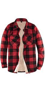 Women's Lined Fleece Plaid Shirt Jacket Sherpa Fleece Throughout Flannel Shirt Jac