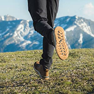 outsole, traction, peak to pavement