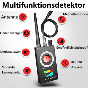 Drahtloser Detektor