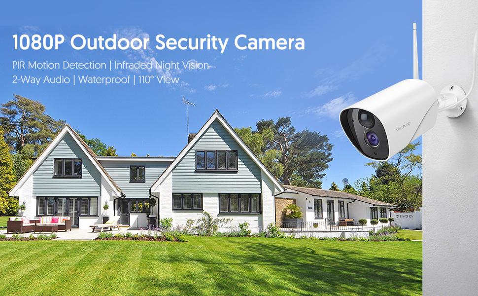 1080P Outdoor Security Camera