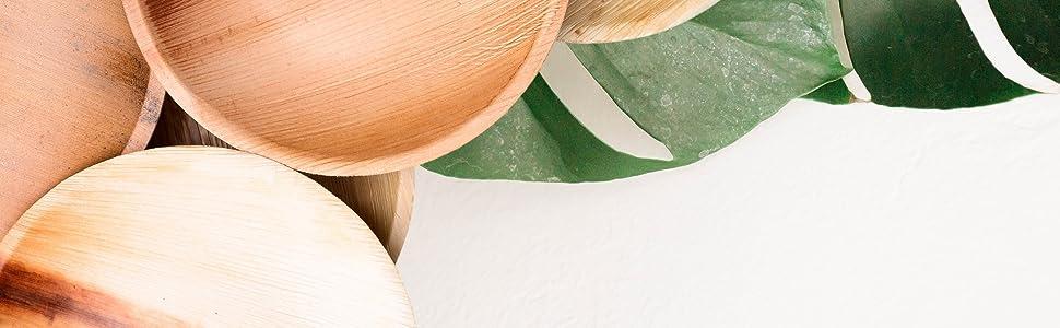 Palmblattteller