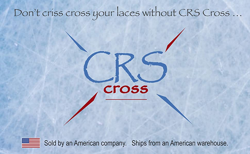 Don't criss cross your laces without CRS Cross. Sold by an American Company