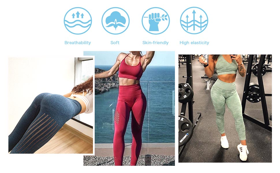 Pink Pig Fat Portrait Womens Fitness Yoga Pants Clothes Gym Thin Yoga Pants for Women