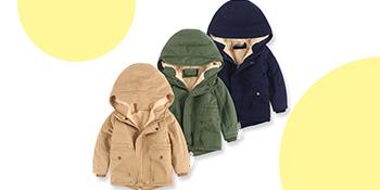 boys girls puffer down jacket