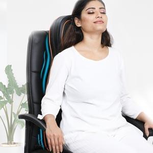 compact slim back massager machine
