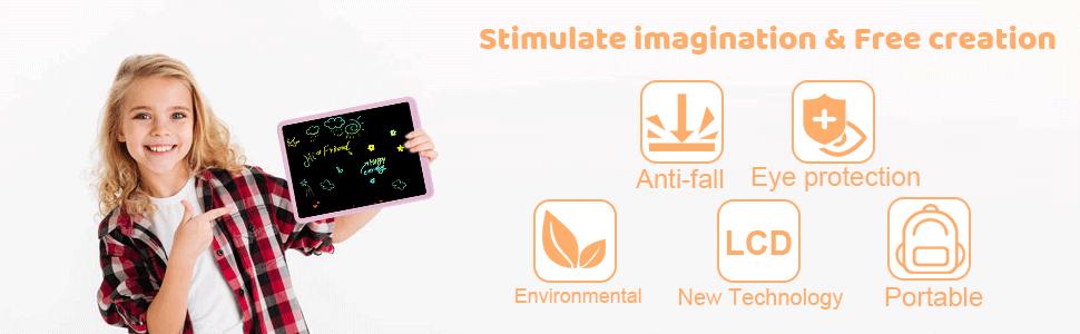 Stimulate imagination Free creation : Eye protection, Environmental, Portable, New Technology