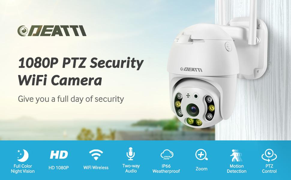camera surveillance wifi exterieure sans fil