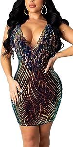 dresses for womens clubwear