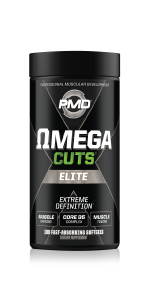 Omegas for lean muscle and definition.MCT oils to help mitigate fat