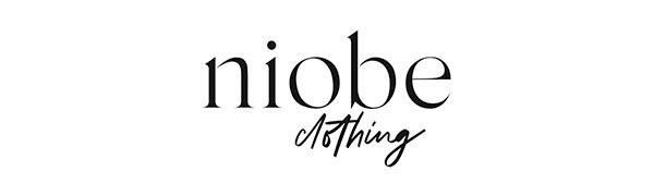 niobe clothing logo womens apparel