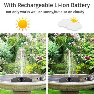 solar fountain pump solar bird bath fountains solar water fountain for bird bath