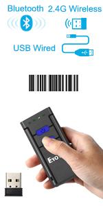 2877 1d bluetooth barcode scanner