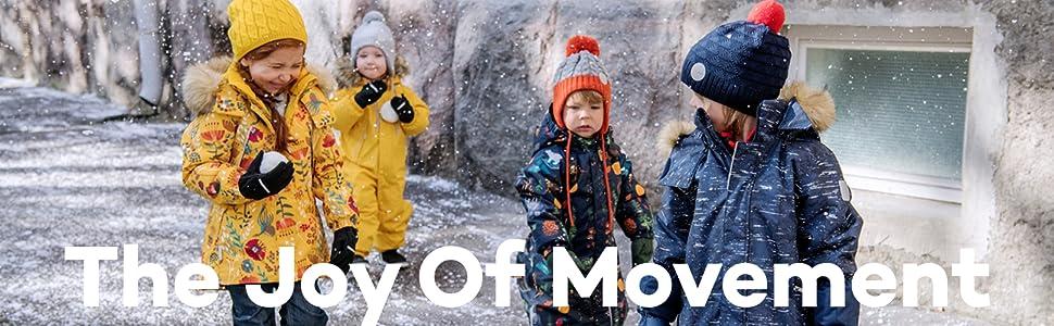 Reima Kids Gotland Winter One-Piece Overall Snowsuit Insulated Outerwear