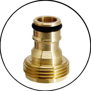 Bonus 3/8 Brass Quick Connector