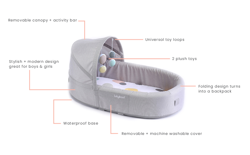 Bassinet features
