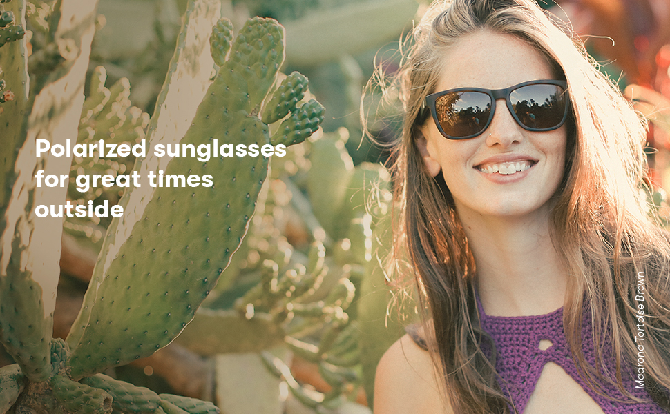 Polarized sunglasses for great times outside