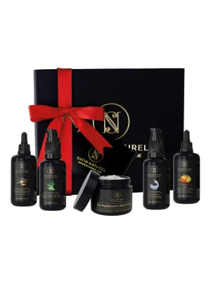 Set de regalo de lujo antienvejecimiento orgánico