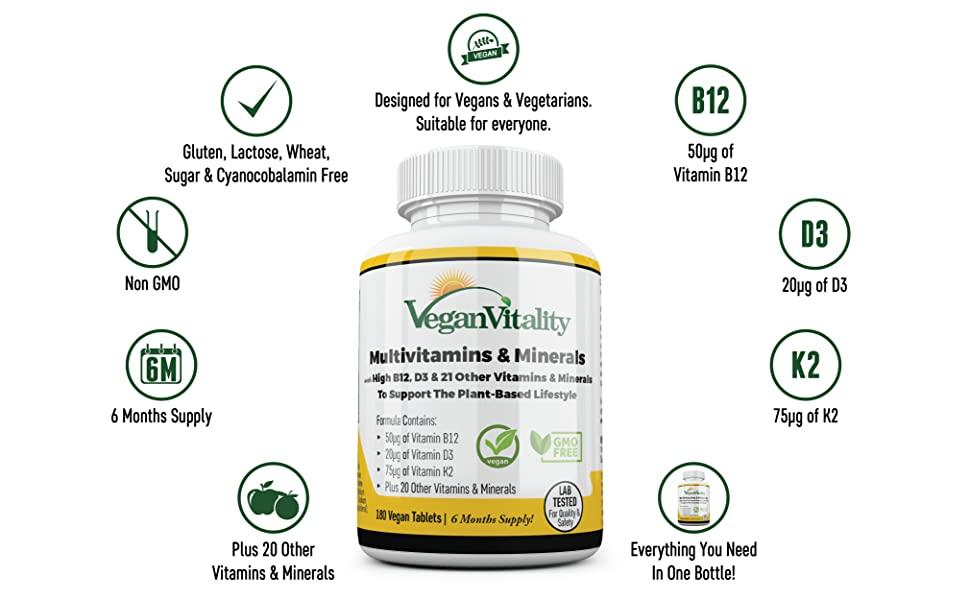 produzioni vegetali vitamina b 12 k2 mk7 selenio integratore naturale multivitaminico vitamina b12