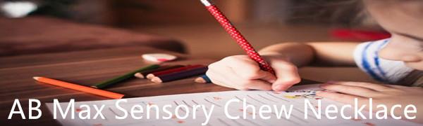 sensory chew necklace biting necklace autism necklace