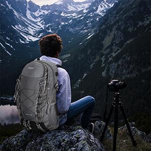 VENTCY Mochila Senderismo Mochilas Trekking Hombre Mujer 35L Trekking Acampada Excursion Viaje Impermeable Mochila Unisex Escolares Portatil 14 Pulgadas 35L Negro: Amazon.es: Deportes y aire libre