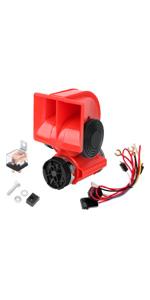 12V Car Air Sanil Horn Compact with Compressor Automotive Relay Mini Nautilus Super Loud