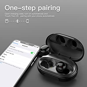 auto paring wireless earbuds