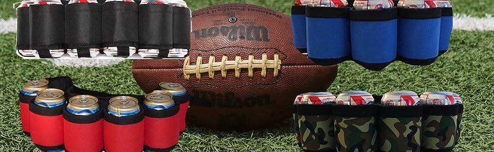 Football beer belts