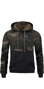 Men's Long Sleeve Casual Hooded T-Shirt Hoodie Pullover Sweatshirt