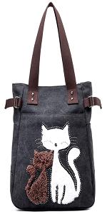 cat handbag