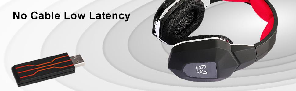 wireless gaming headphones