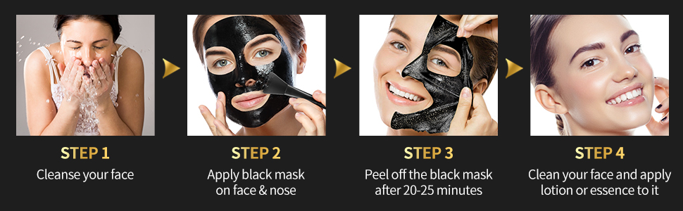 Deep Cleansing Facial Mask for Face & Nose