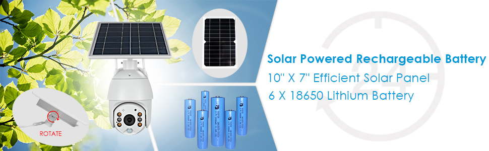 outdoor security camera solar power