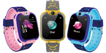 SOS Phone Call Talkie Walkie watch Sports Band for Boys Girls Age 4-12 Children Smart Watches