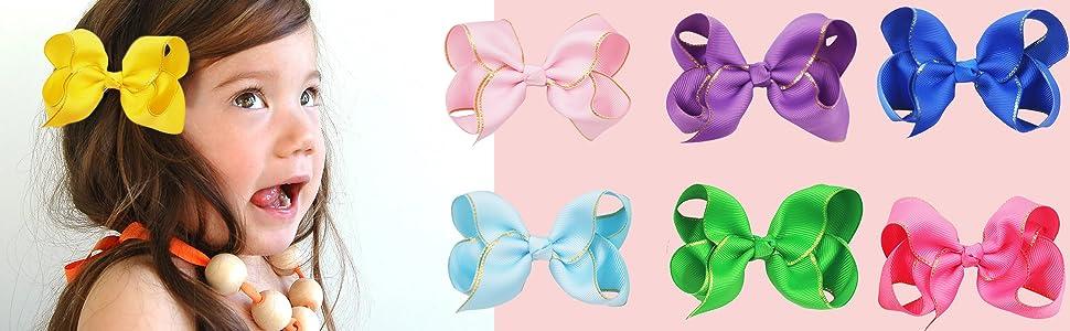 toddler girls hair bows