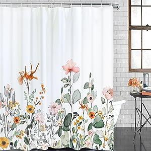 plant shower curtain
