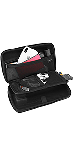 Carrying Case for Electronics Accessories