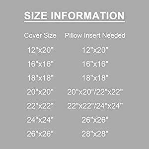 Large Throw Pillow Covers