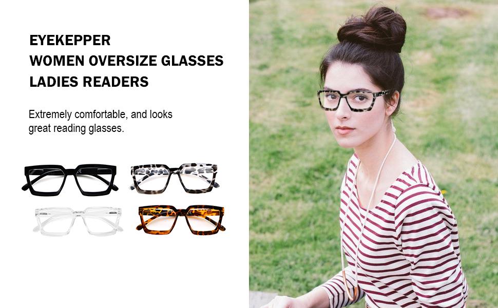 Oprah Style reading glasses men women plastic Eyeglass spring-hinges eyewear fashion readers