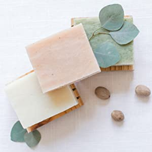 shea butter ginger lime eucalyptus cold process soap paraben free organic