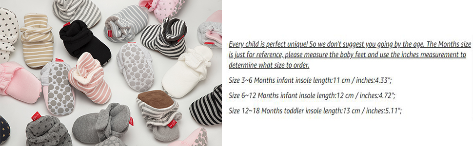 baby shoes size