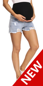 maternity jean shorts for women maternity shorts jean maternity jean shorts over the belly